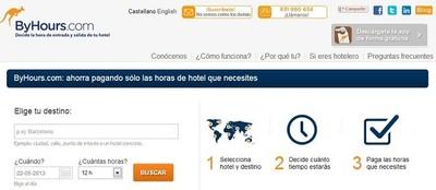 Aplicaciones viajeras: ByHours.com