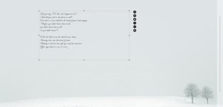 Ommwriter, editor de textos minimalista