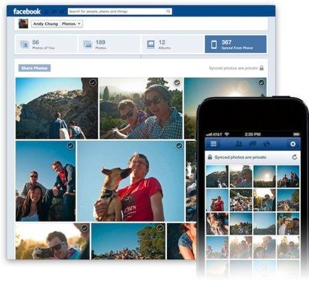 Facebook comienza a permitir subir fotos automáticamente desde los smartphone