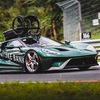 Video: Piloto parapléjico da la vuelta al Nürburgring en su Ford GT