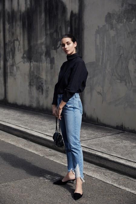 diy romper jeans vaqueros