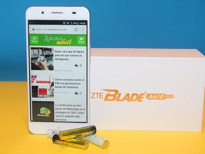 ZTE Blade A610 Plus, análisis: érase una vez un móvil pegado a una batería
