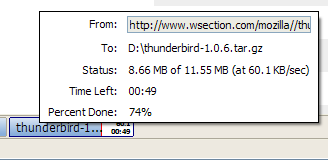 Download Statusbar, mejora tus descargas en Firefox