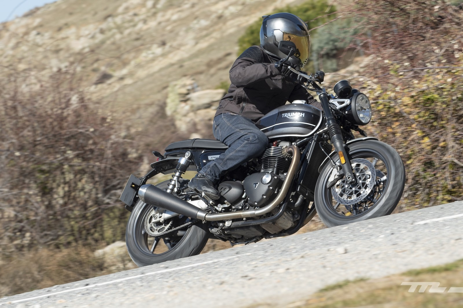 Foto de Triumph Speed Twin 2019, prueba (11/80)