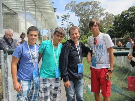 Entrevistamos a los estudiantes de bachillerato Iván, Marcos y Sergio que ganaron el Google Science Fair 2012