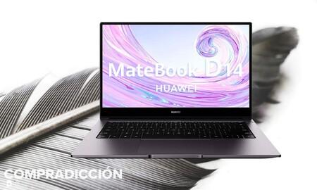 Estrena portátil ligero y de gama a precio mínimo: este Huawei MateBook D14 está rebajado a 619 euros en Amazon