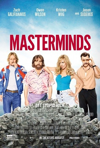 Cartel de 'Masterminds'