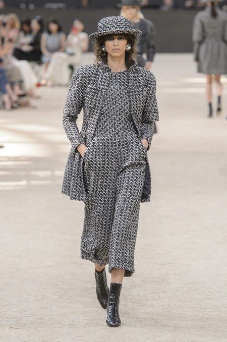 chanel alta costura haute couture otoño 2017 desfile