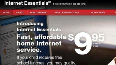 La banda ancha de Comcast por 9.95 euros para hogares con escolares dependientes de la ayuda pública