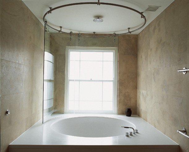 Baño decorado con Corian