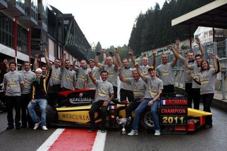 GP2 Bélgica 2011: Romain Grosjean se proclama campeón de la presente temporada