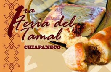 Feria del Tamal Chiapaneco 2014, degustando tamales de chipilín y de bola
