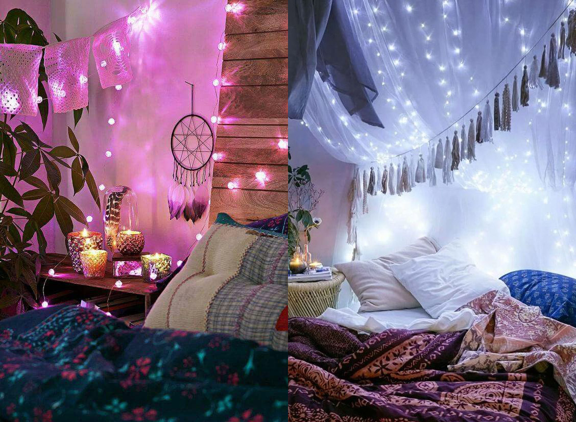 17 ideas para decorar tu dormitorio con estilo hippie - Decoracion estilo hippie chic ...