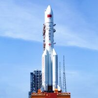 China prepara un cohete capaz de llevar astronautas a la Luna: va a ser tres veces mayor que su actual cohete más grande