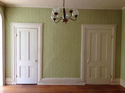 Antes y después: un comedor que dice adiós al papel pintado