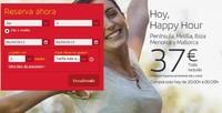 Aprovecha los vuelos #HappyHour de Iberia, ¡hasta las 23:59 de la noche!