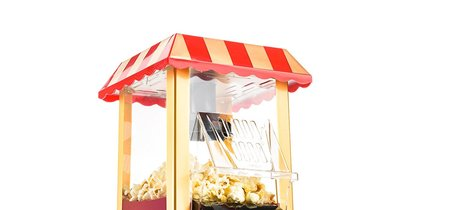 Por 29,99 euros tenemos la  máquina de palomitas Retro Gadgy Palomitero en amazon con envío gratis