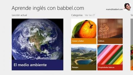 Aprender con babbel.com