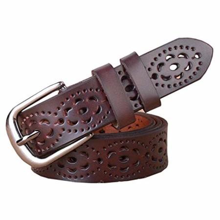 cinturón marrón ajustable