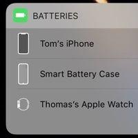 Aparece de nuevo el icono de la nueva Smart Battery Case del iPhone XS en iOS 12.1.2