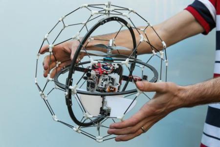 Flyability GimBall es un drone anti-colisiones que se ha llevado un millón de dólares