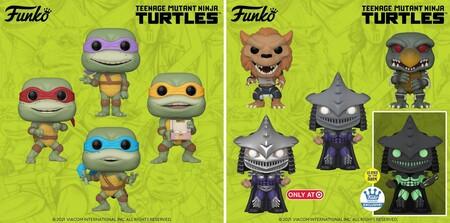 Nuevos Funko POP de las Tortugas Ninja en preventa con Amazon México