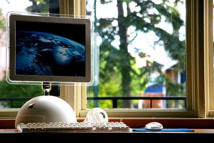 Imagen de la semana: tributo al iMac