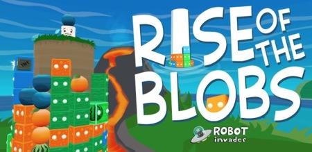 Rise of the Blobs, elimina todos los bloques de colores en este original puzzle para Android