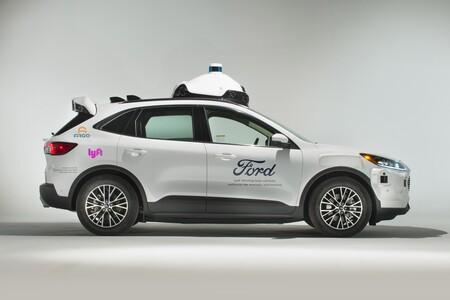 Ford Argo Ai Lyft Taxi Autonomo 1