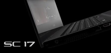 EVGA nos toma por sorpresa con SC17 Gaming, su primera portátil  4K para gamers