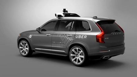 Imagen Del Coche Autonomo Que Desarrollan Volvo Y Uber
