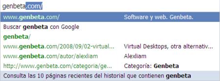 Truco: Aumenta el numero de sugerencias en Google Chrome