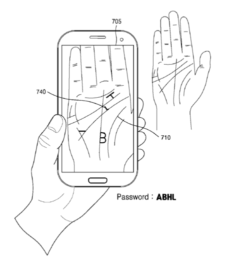 Samsung Patent Palm 2