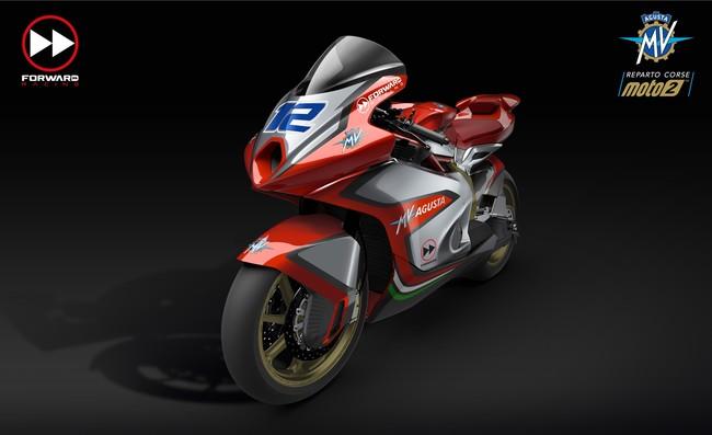 Así serán las motos de MV Agusta para volver al mundial en la categoría de Moto2