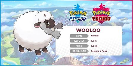 Pokémon Espada y Escudo - Wooloo