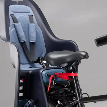 Alertan de un fallo de seguridad en estas sillas portabebés para bicicletas de Decathlon