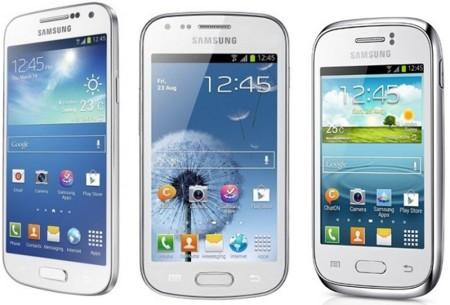 Precios Samsung Galaxy S4 mini, Trend y Young con tarifas Orange