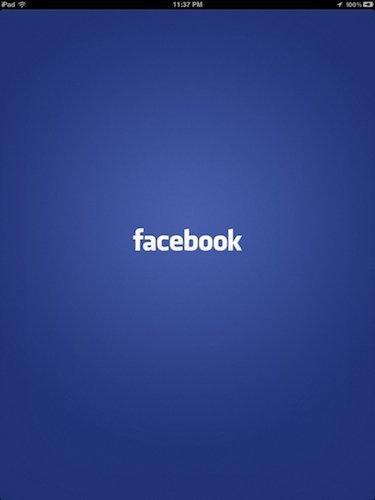 Se filtran capturas de la aplicación de Facebook para iPad