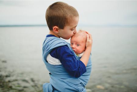 Porteando al bebé