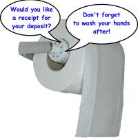 El papel higiénico que te habla
