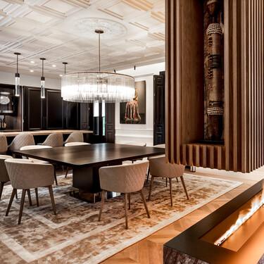 Dale nueva vida a paredes y techos: 5 salones inspiradores  para sumarse a la tendencia de instalar paneles 3D