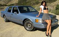 1990 Lincoln Town Car subastado en eBay