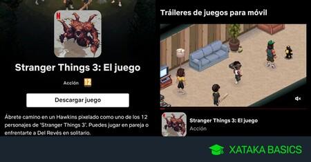 Cómo bajar y jugar a los videojuegos de la app de Netflix