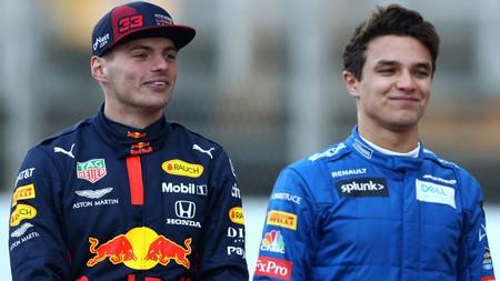 Verstappen Norris F1 Australia 2020