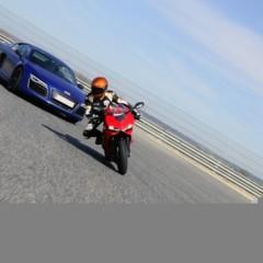 Foto 9 de 24 de la galería ducati-899-panigale-vs-audi-r8-v10-plus en Motorpasion Moto