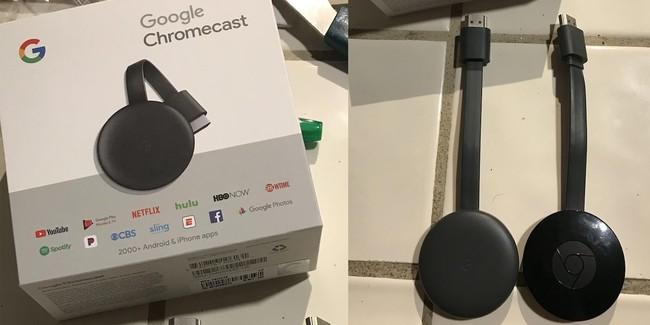 El nuevo Google Chromecast ha sido vendido accidentalmente y desvela ligeros cambios en el diseño