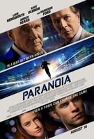 'Paranoia', cartel y tráiler