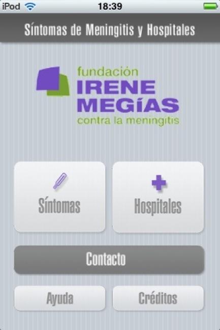 La Fundación Irene Megías contra la Meningitis desarrolla una aplicación móvil para ayudar a diagnosticar la enfermedad