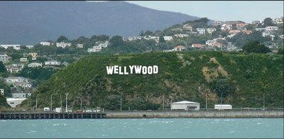 El cartel de la discordia entre Wellington (Nueva Zelanda) y Hollywood