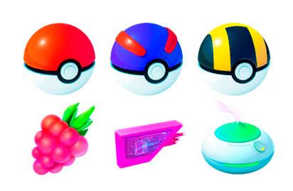 Pokemon Objetos